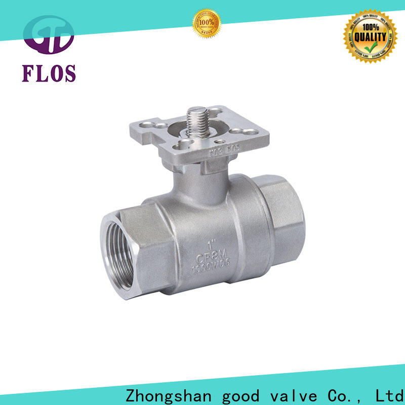 FLOS Latest 2 piece stainless steel ball valve company for directing flow