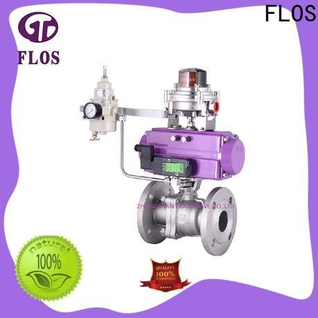 FLOS valvethreaded 2-piece ball valve factory for directing flow