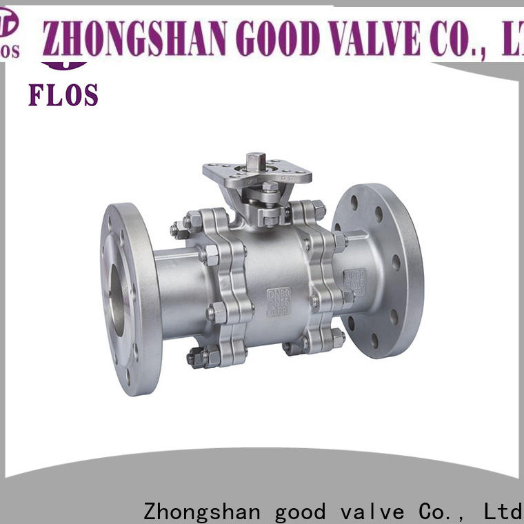 FLOS highplatform 3 piece stainless ball valve Supply for directing flow