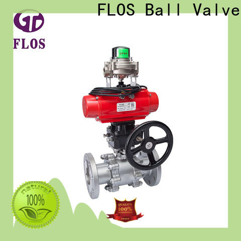 FLOS Latest three piece ball valve factory for closing piping flow