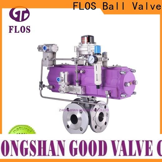 FLOS Best three way ball valve suppliers factory for opening piping flow