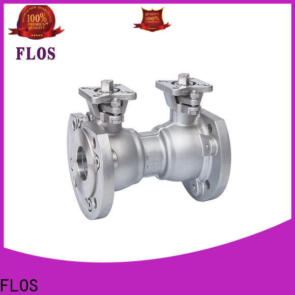 FLOS Top 1-piece ball valve company for closing piping flow