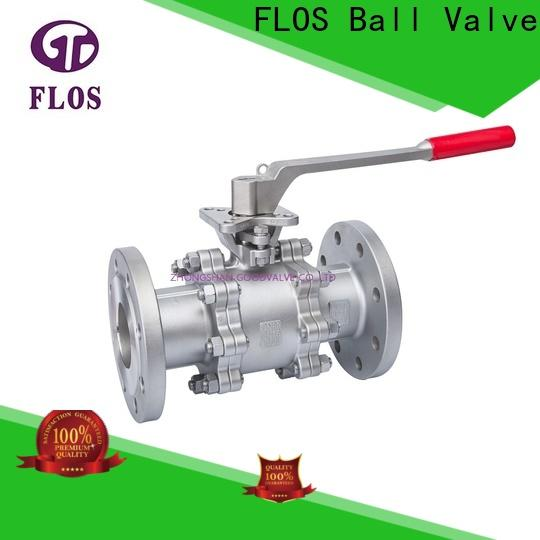 FLOS switch 3 piece stainless ball valve Suppliers for directing flow