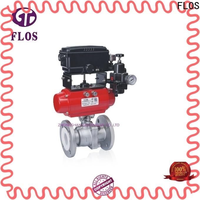 FLOS Top ball valves factory for directing flow