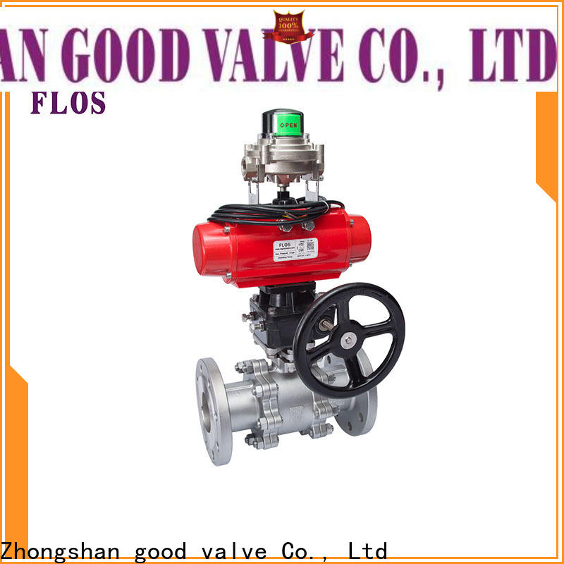 FLOS Top 3-piece ball valve Supply for closing piping flow