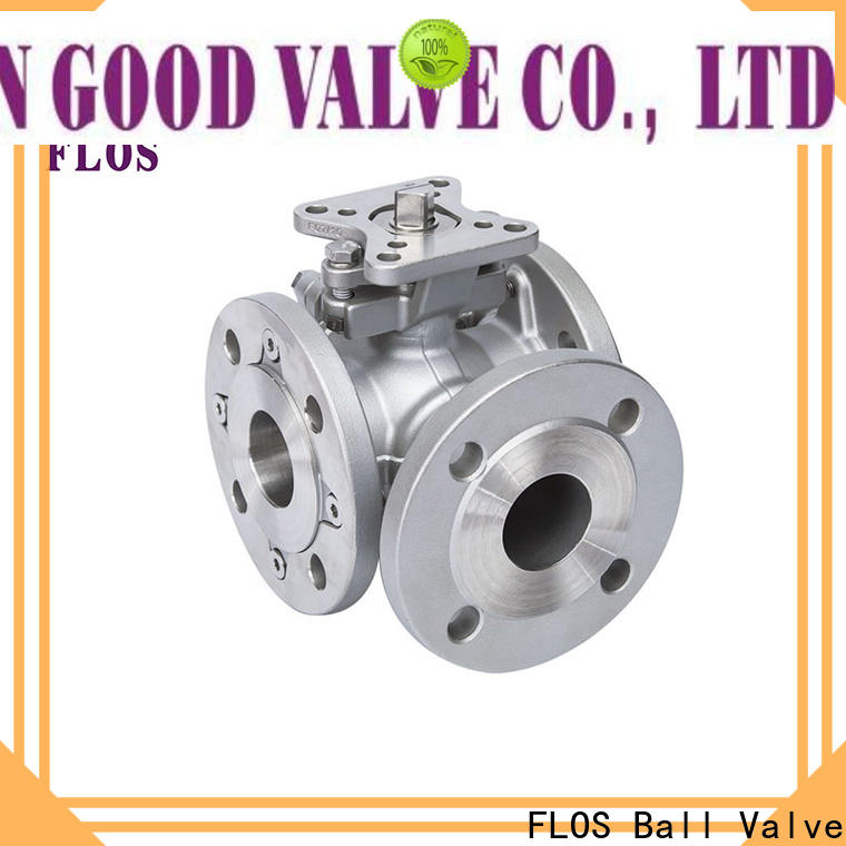 FLOS Wholesale 3 way ball valve Supply for directing flow
