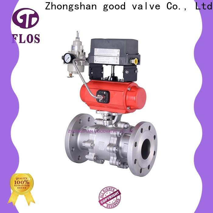 FLOS ends 3-piece ball valve for business for closing piping flow