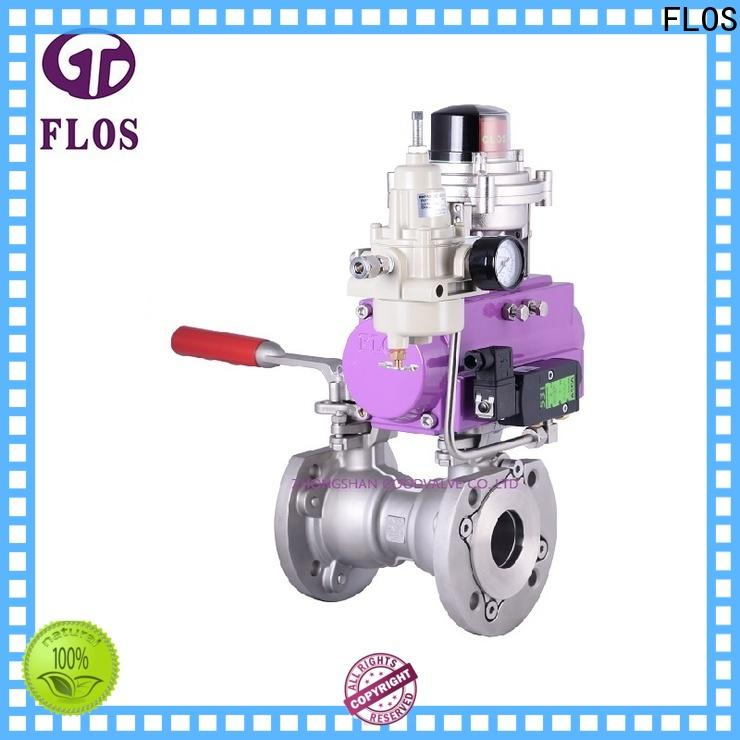 FLOS Custom professional valve company for opening piping flow