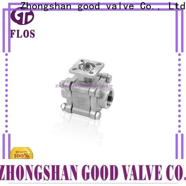 FLOS switchflanged 3 piece stainless steel ball valve factory for opening piping flow