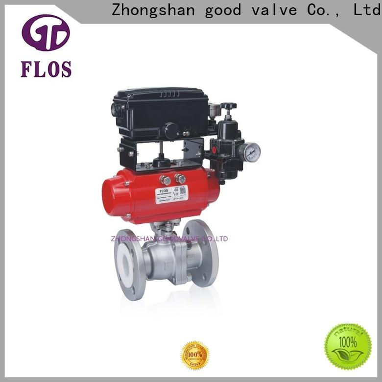 FLOS Latest stainless ball valve manufacturers for opening piping flow