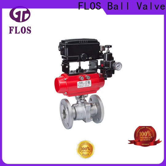 FLOS High-quality 2 piece stainless steel ball valve for business for directing flow