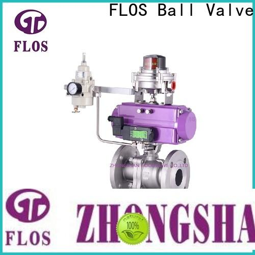 FLOS Best two piece ball valve factory for closing piping flow