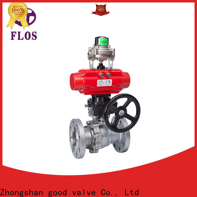 FLOS Custom stainless ball valve Suppliers for closing piping flow