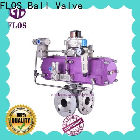 FLOS Custom multi-way valve company for closing piping flow