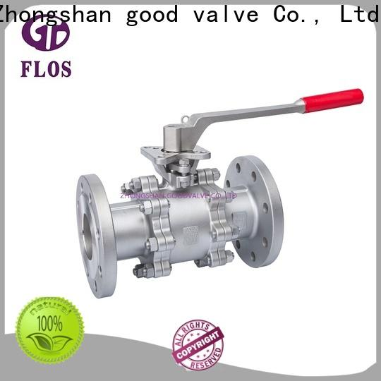 FLOS Wholesale 3-piece ball valve factory for opening piping flow