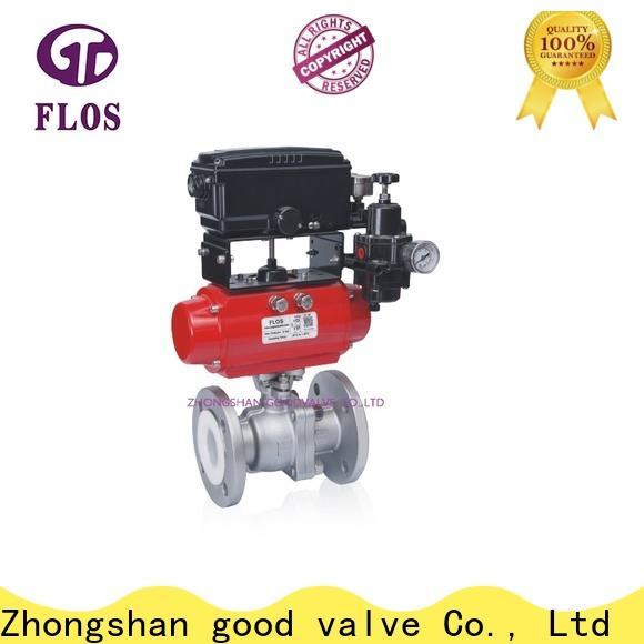 FLOS manual ball valves company for closing piping flow