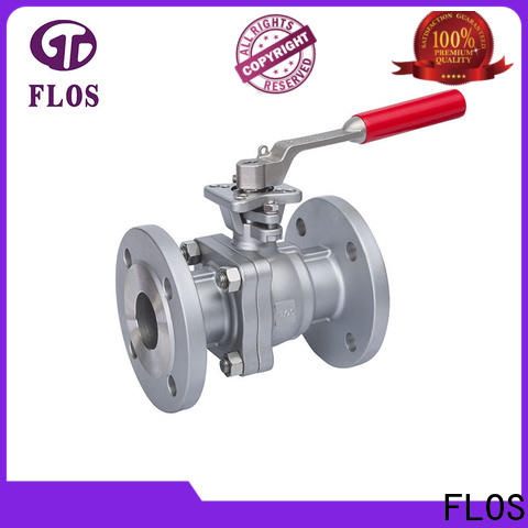 FLOS valve 2-piece ball valve manufacturers for closing piping flow