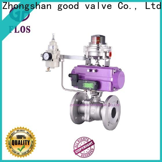 FLOS valve 2 piece stainless steel ball valve company for opening piping flow