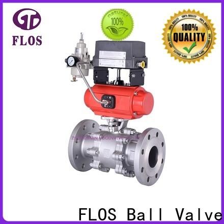 High-quality three piece ball valve pneumatic factory for directing flow