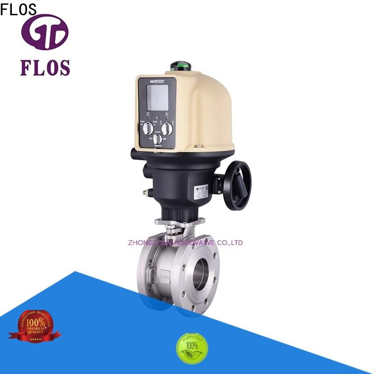 FLOS Top uni-body ball valve company for closing piping flow