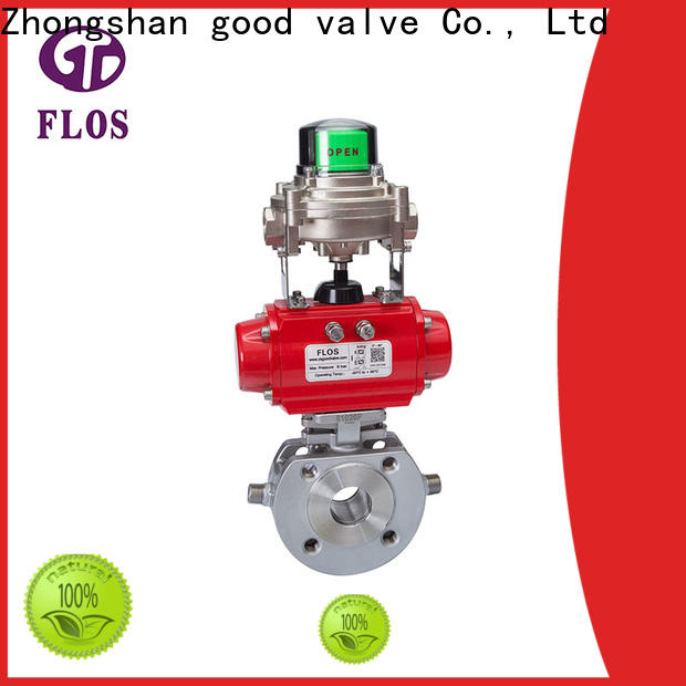 FLOS High-quality single piece ball valve manufacturers for closing piping flow