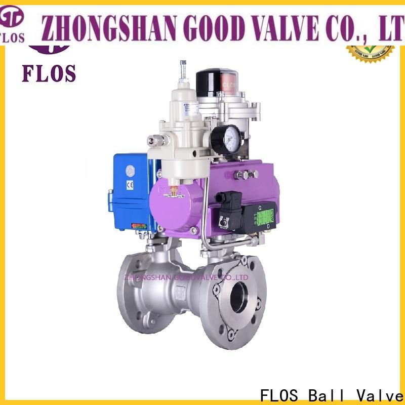 FLOS Custom 1 pc ball valve manufacturers for opening piping flow