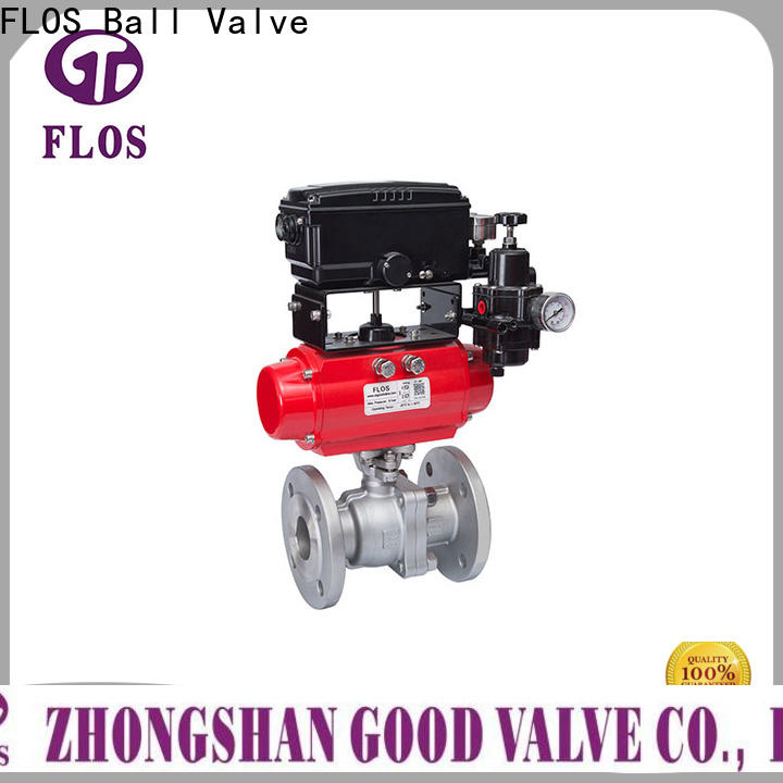 FLOS highplatform 2-piece ball valve factory for opening piping flow