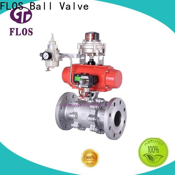 FLOS Latest 3 piece stainless steel ball valve factory for directing flow