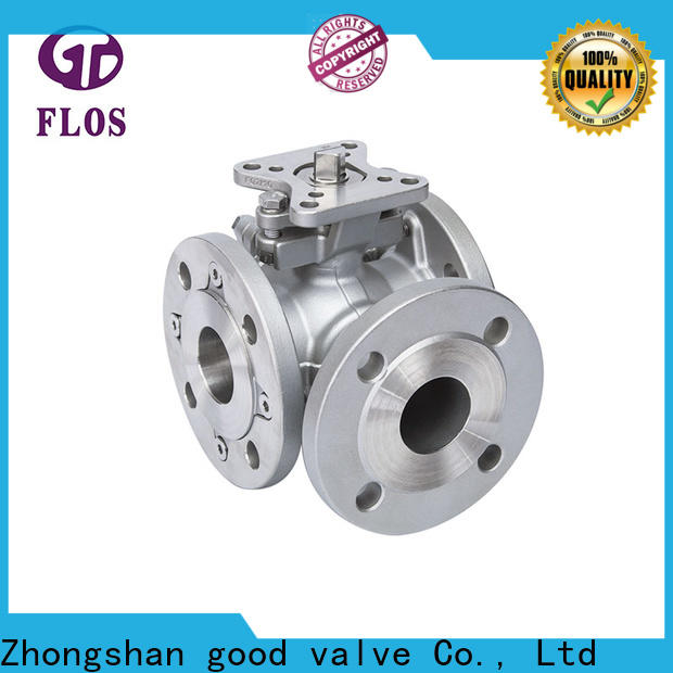 High-quality three way valve carbon Supply for closing piping flow