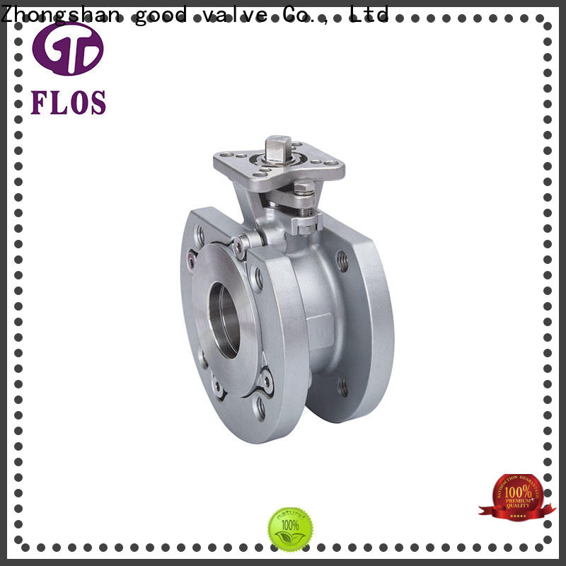 FLOS economic flanged gate valve factory for directing flow