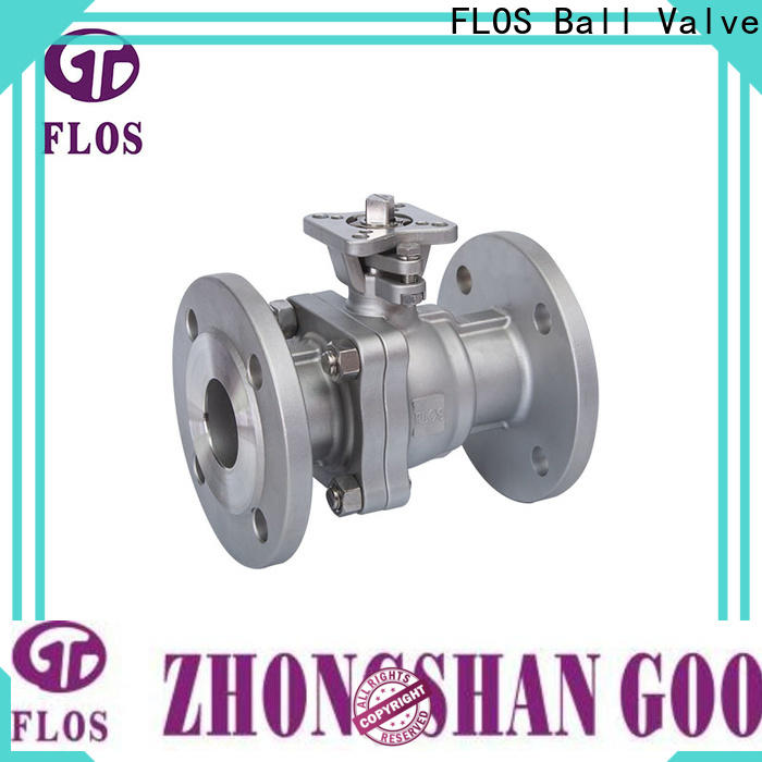 FLOS positionerflanged 2-piece ball valve manufacturers for directing flow