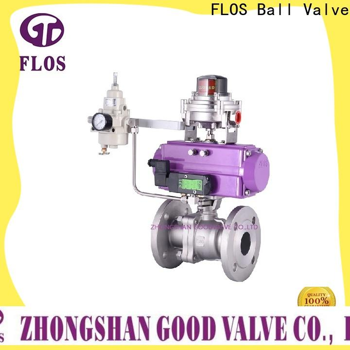 FLOS Custom stainless steel ball valve factory for directing flow