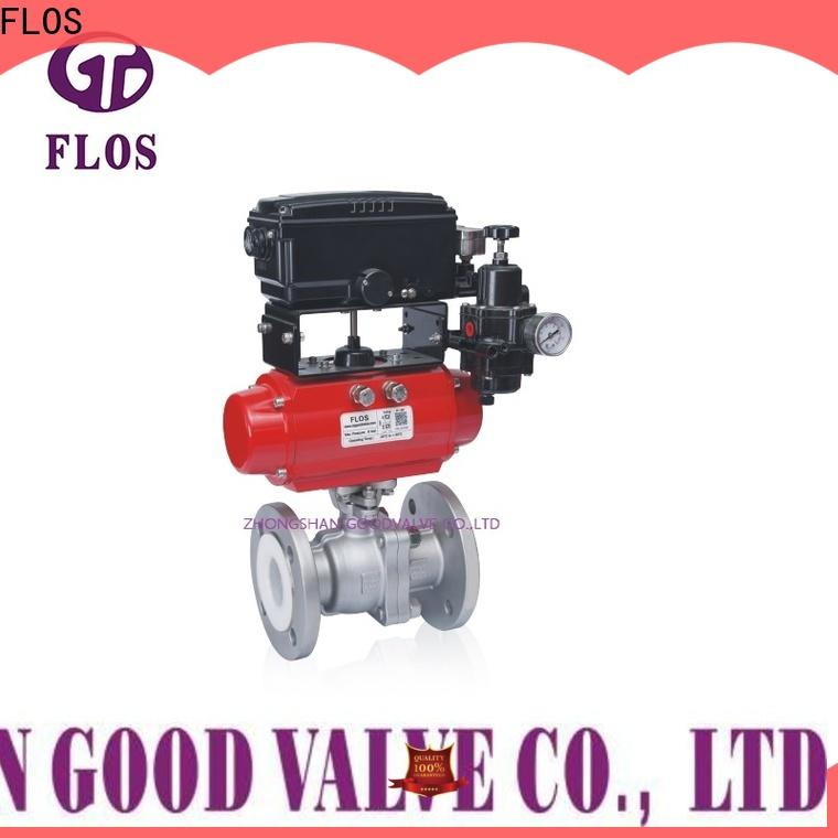 FLOS High-quality stainless ball valve Supply for closing piping flow
