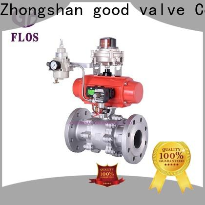 Wholesale 3 piece stainless ball valve flanged manufacturers for closing piping flow