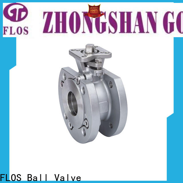 FLOS steel 1 pc ball valve Suppliers for closing piping flow