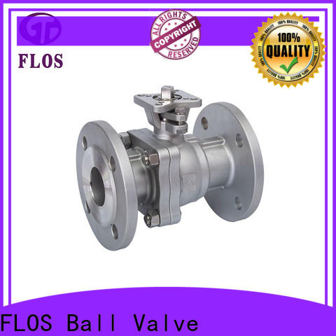 New 2-piece ball valve ball factory for opening piping flow