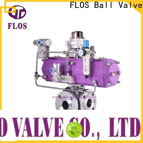FLOS switch three way ball valve suppliers company for closing piping flow