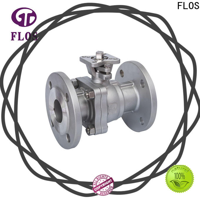 FLOS ends two piece ball valve Supply for closing piping flow