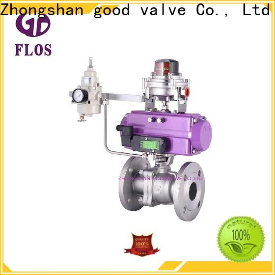 FLOS switchflanged 2 piece stainless steel ball valve manufacturers for directing flow