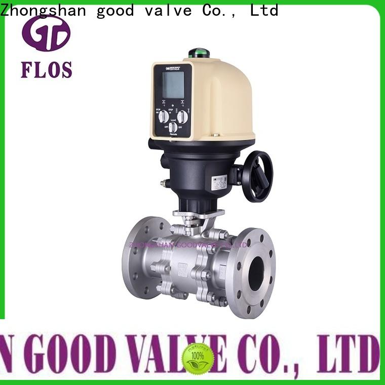 Latest three piece ball valve pneumaticworm Supply for closing piping flow