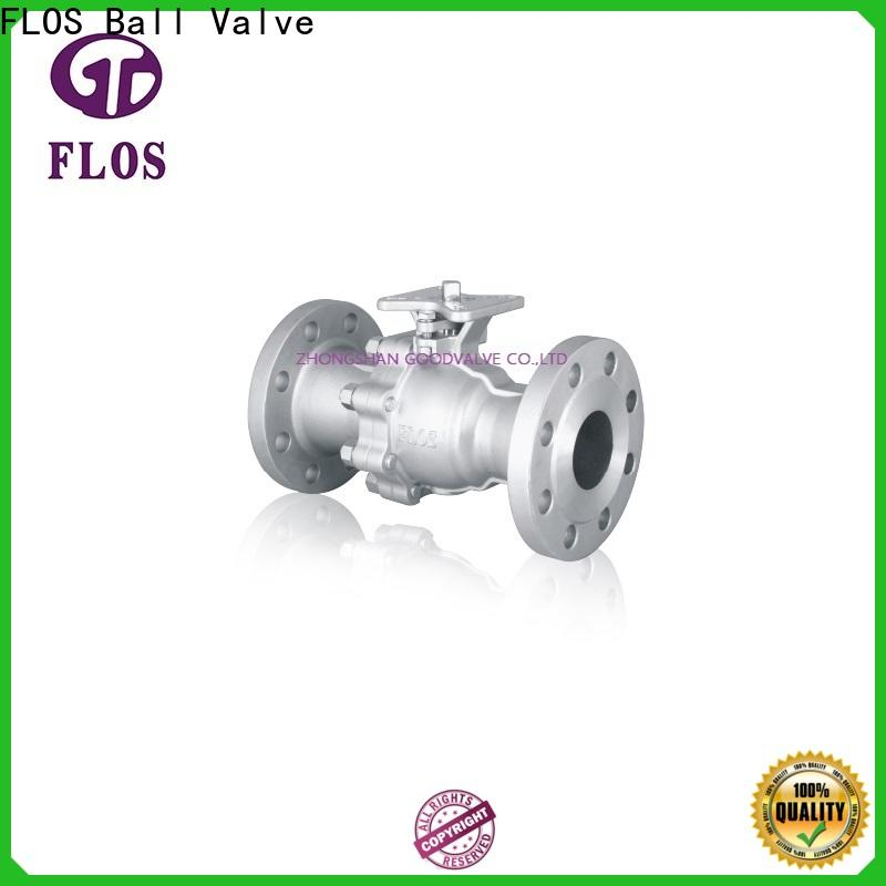 FLOS valvethreaded 2-piece ball valve factory for opening piping flow
