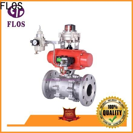 FLOS openclose 3 piece stainless ball valve factory for opening piping flow