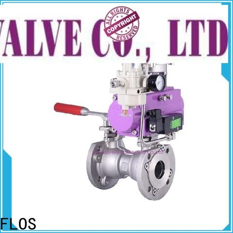 FLOS High-quality 1 piece ball valve manufacturers for opening piping flow
