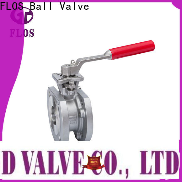 FLOS Top uni-body ball valve manufacturers for opening piping flow