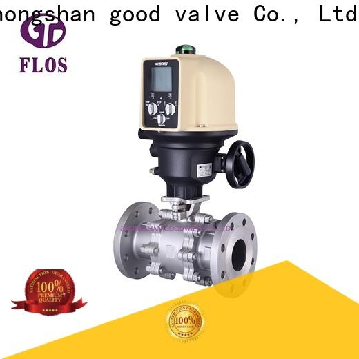 FLOS Latest 3-piece ball valve factory for opening piping flow