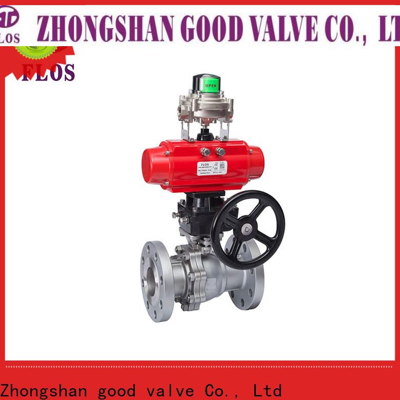 New two piece ball valve pneumaticworm manufacturers for closing piping flow