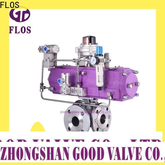 Custom 3 way valve pneumaticelectric manufacturers for closing piping flow