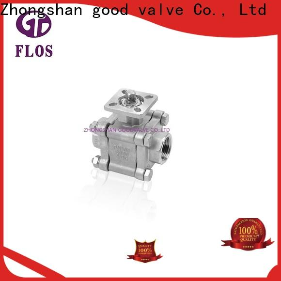 Top 3 piece stainless ball valve highplatform Supply for opening piping flow