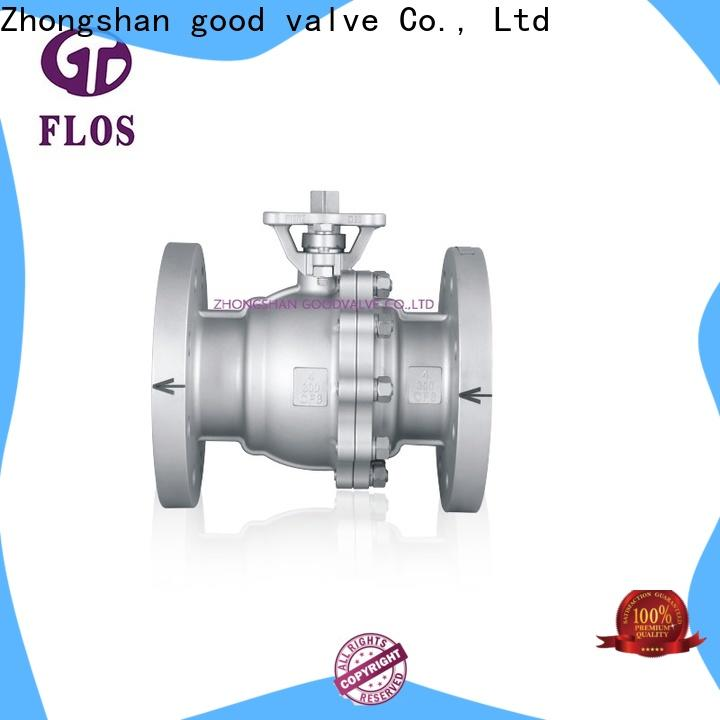 Latest ball valve manufacturers positionerflanged factory for opening piping flow