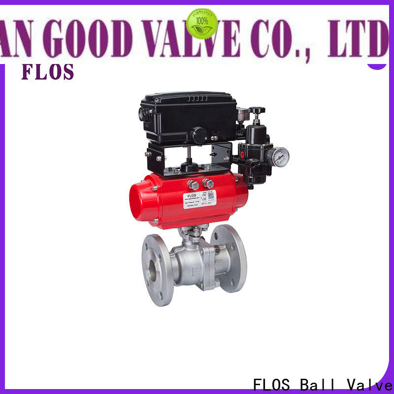 Custom stainless steel ball valve valveflanged for business for closing piping flow